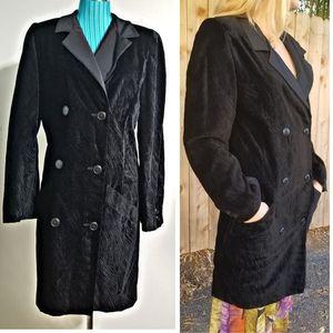 LTD EDITION $2K KRIZIA Italy TUXEDO Coat-Dress